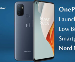 OnePlus Launches Low Budget Smartphone Nord N100